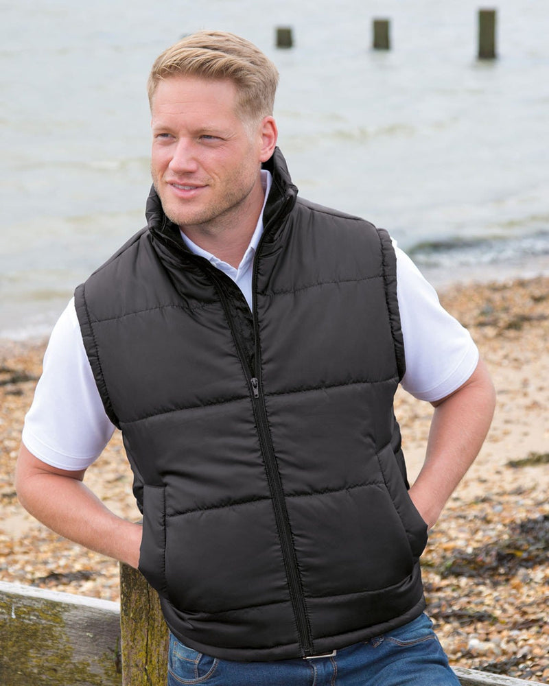 Result R208X Bodywarmer Jacket Model