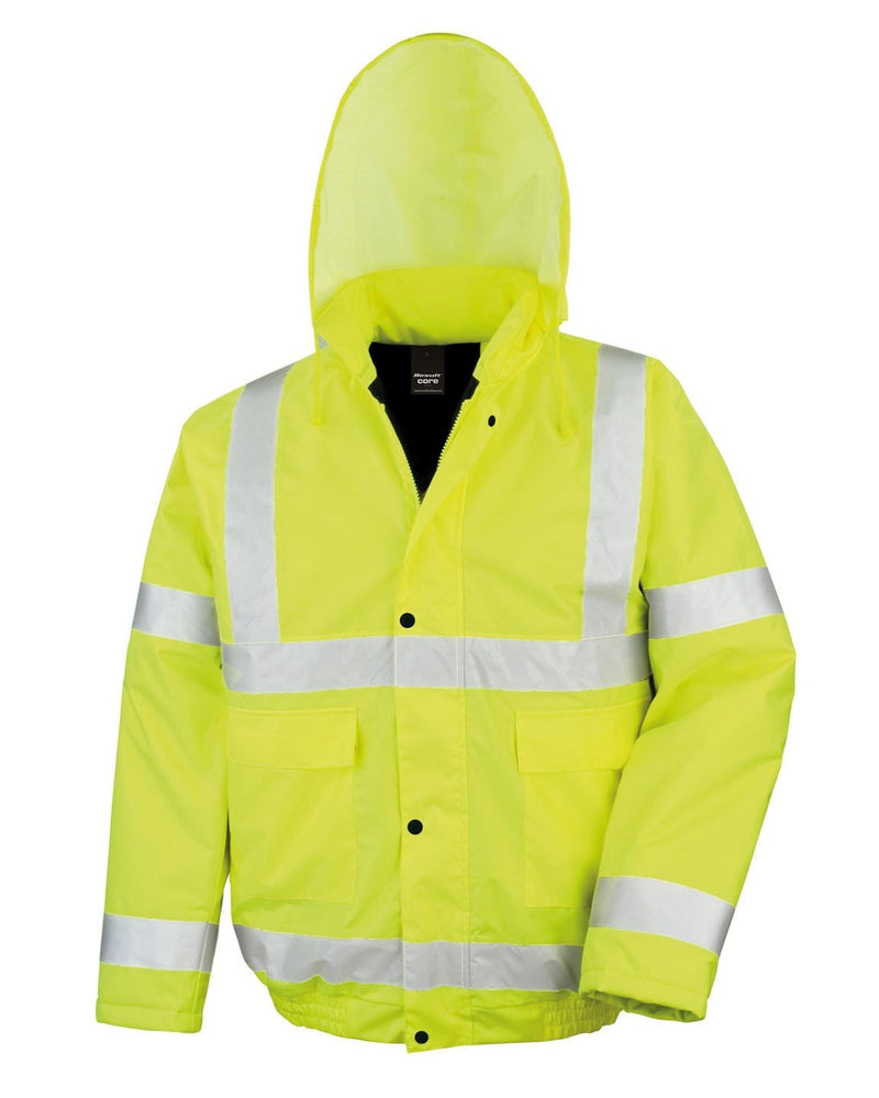 Result R217X Winter Bomber Yellow Hi Viz Jacket