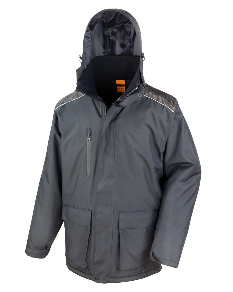Result R305X Vostex Long Coat With Hood Up