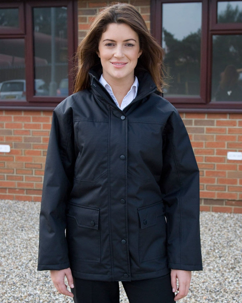 Result R307F Ladies' Platinum Managers Jacket Model 3