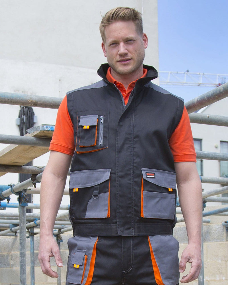 Result R317X Lite Work Gilet Model