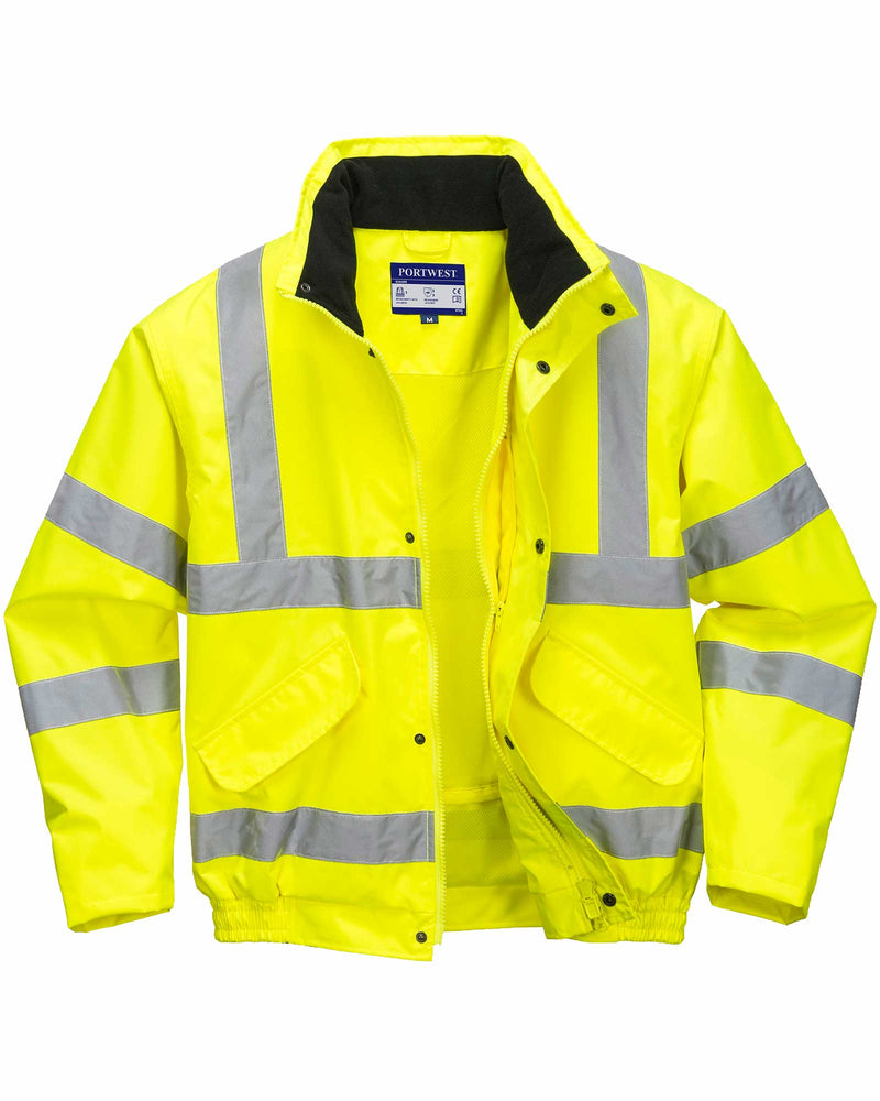 Portwest RT62 Hi Vis Breathable Mesh Lined Jacket