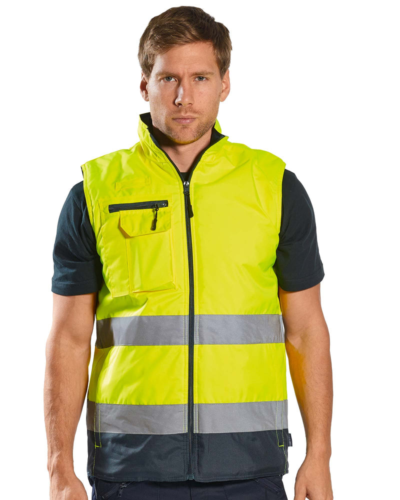 Portwest S267 Hi Vis Two Tone Bodywarmer