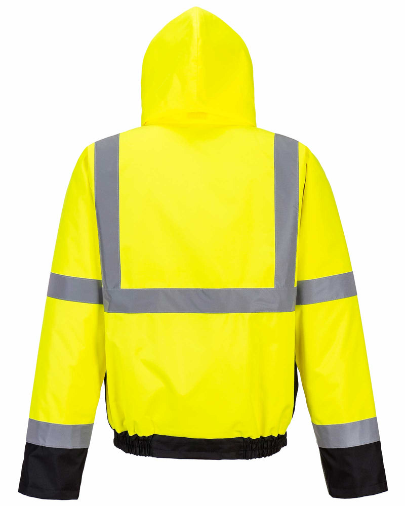 Portwest S363 Hi Vis Two Tone Bomber Jacket