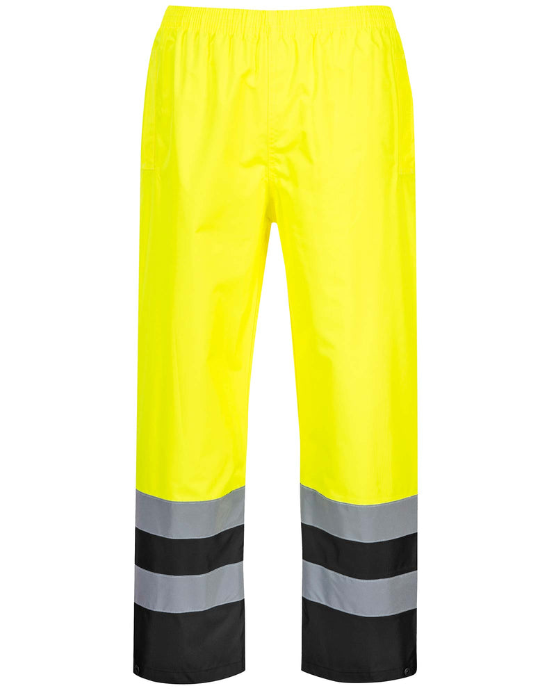 Portwest S486 Hi Vis Two Tone Traffic Trousers