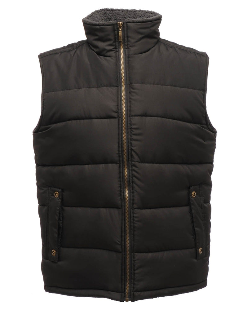 Regatta TRA806 Men's Altoona Insulated Black Bodywarmer