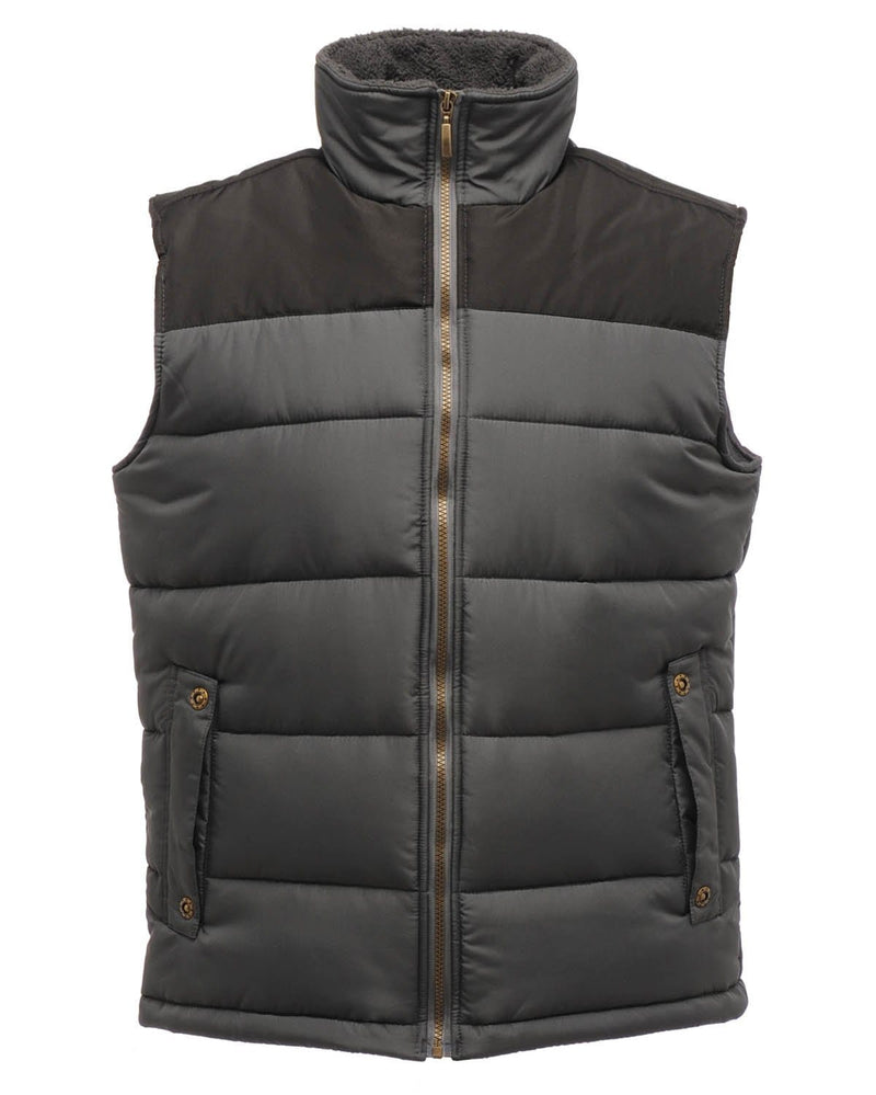 Regatta TRA806 Men's Altoona Insulated Seal Grey Bodywarmer