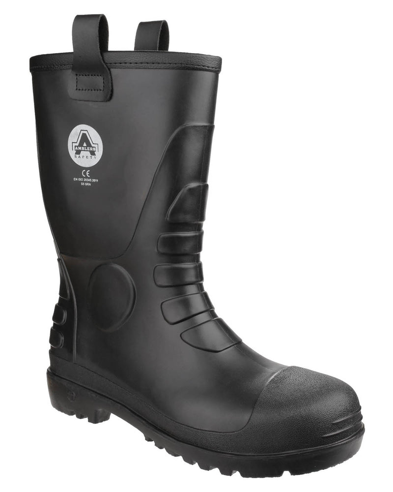 Amblers FS90 Waterproof PVC Rigger Safety Boots