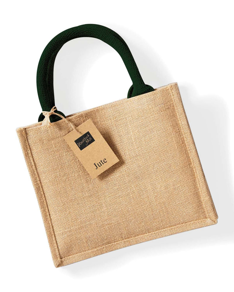 Westford Mill W412 Jute Mini Gift Bag