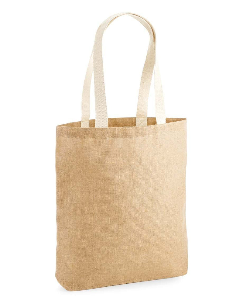 Westford Mill W455 Unlaminated Jute Tote