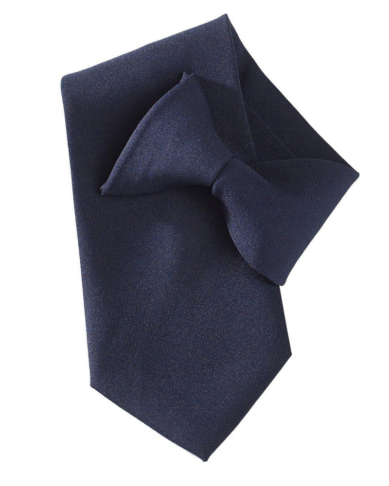 Yoko CT01 Clip on tie navy