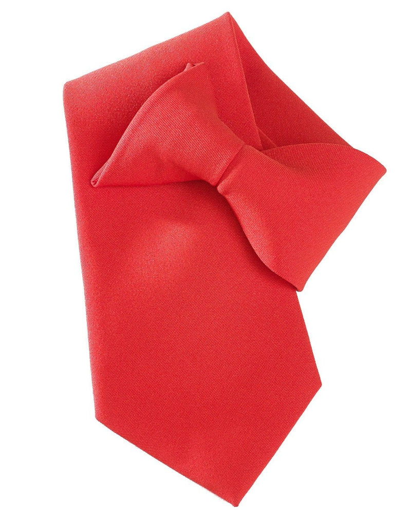 Yoko CT01 Clip on tie red