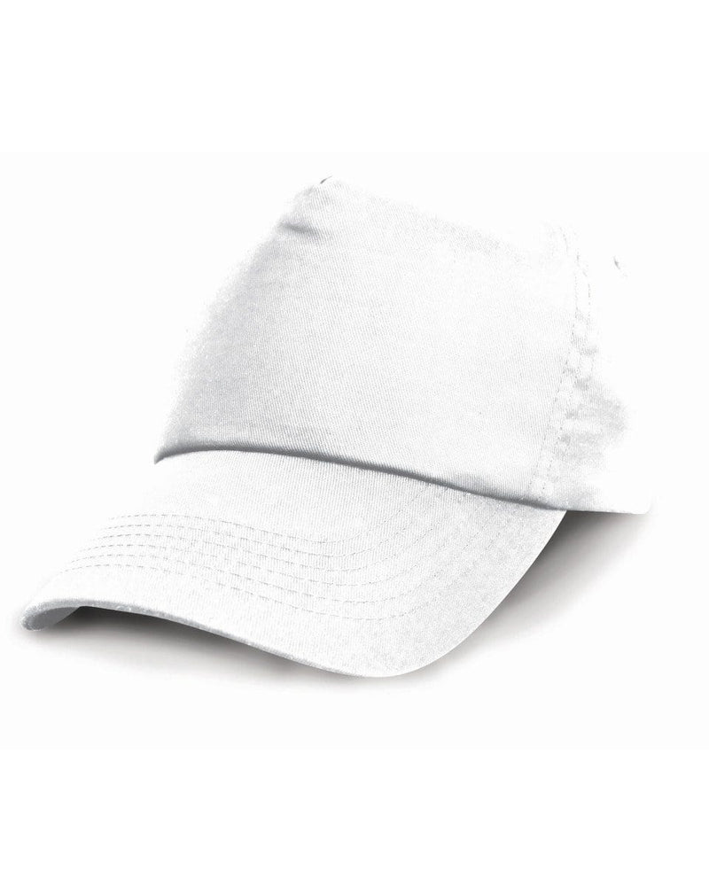 Result RC05 White Cotton Cap