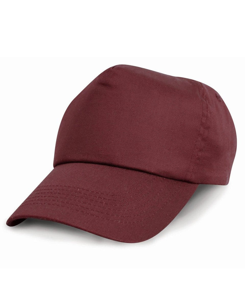 Result RC05 Burgundy Cotton Cap