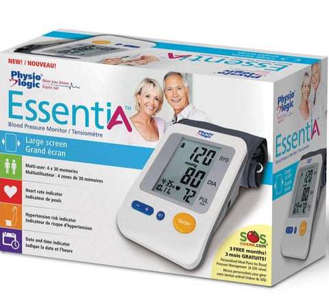 Physiologic® essentiA Blood Pressure Monitor with Arm Cuff