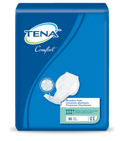 Image of TENA® Comfort™ Night Super Pad - Unisex