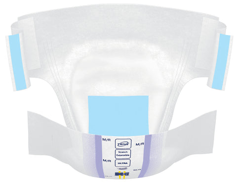 Image of TENA® Stretch Incontinence Brief, Ultra Absorbency - Unisex