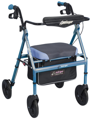 Drive Medical Airgo Comfort-Plus XWD Rollator