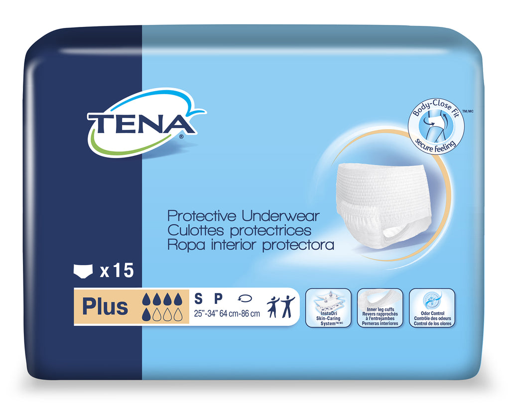 TENA® Protective Underwear, Plus Absorbency - Unisex