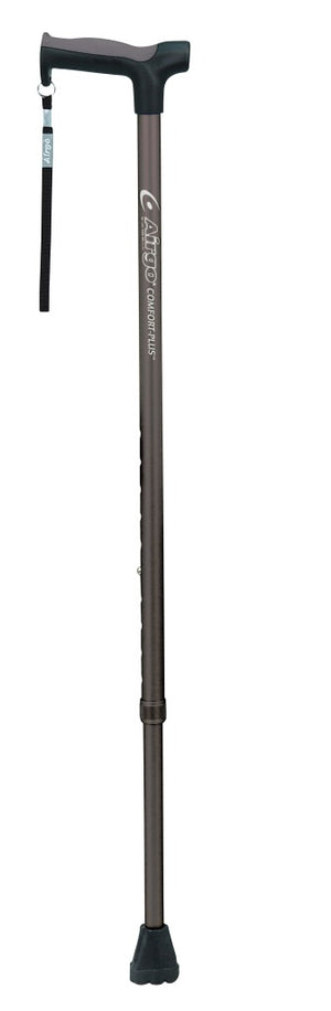 Drive Medical Airgo Comfort-Plus Aluminum Cane, Derby Handle