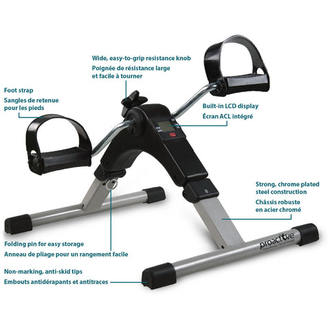 Image of AMG Deluxe Pedal Exerciser With Digital Display