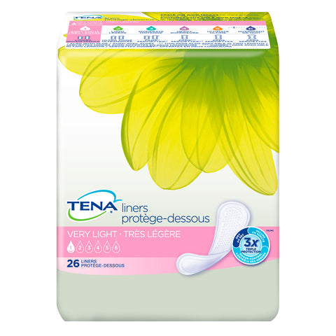 Image of TENA® Very Light Liners Regular for Women