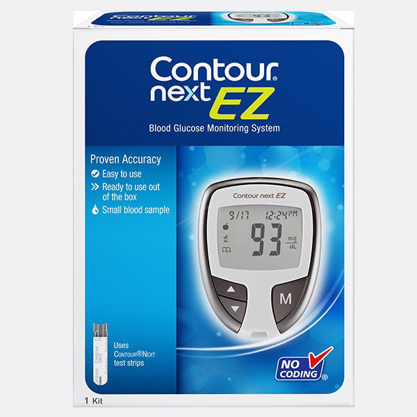 CONTOUR®NEXT EZ Blood Glucose Monitoring System