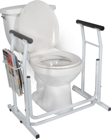 Image of Drive Medical Free-standing Toilet Safety Rail