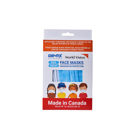 Disposable Face Mask, 3-Ply, Ear-loop, Kids, Non-Medical