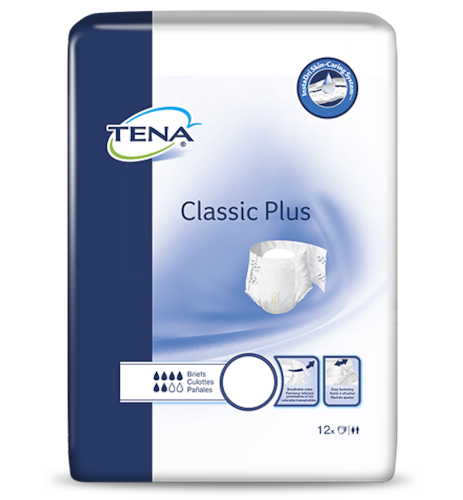 TENA® Classic Plus Briefs - Unisex