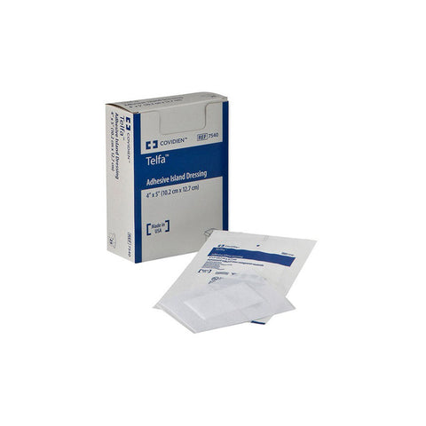Image of Telfa™ Adhesive Island Dressing, Non-adherent, Sterile