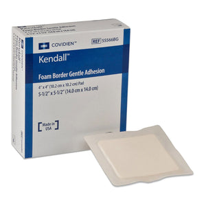 Kendall™ Gentle Bordered Foam Dressing with Silicone Adhesive