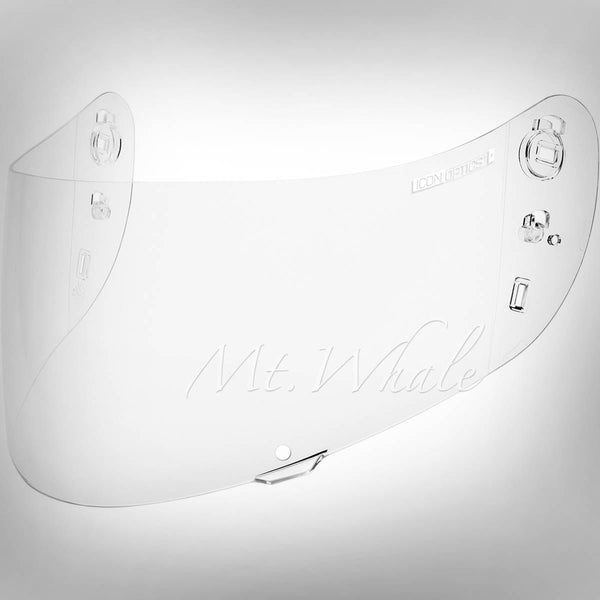 ICON IC-04 Anti-Fog Optics Clear Shield,Visor for Airmada, Airframe Pro HELMET