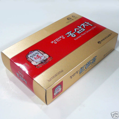 New Korean Red Ginseng Tea 3g x 100 Cheong Kwan Jang