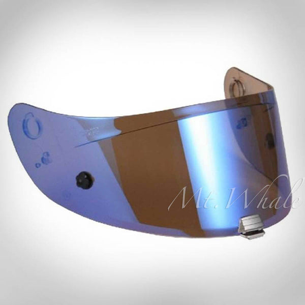HJC HJ-20M Pinlock Ready Blue Mirrored Shield Visor for FG-17 IS-17 FG-ST R-PHA ST RPHA ST HJ-20ST Helmet Blau Verspiegelt Visier für Motorrad Helm Miroir/Bleu Visière pour Casque Moto