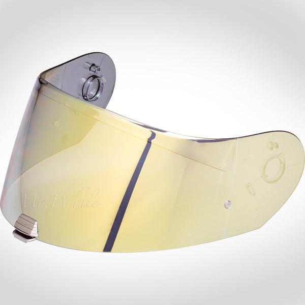 HJC HJ-25 Pinlock Ready Gold Mirrored Shield Visor for R-PHA MAX RPHA EVO Helmet