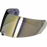HJC HJ-29 Gold Mirrored Shield Visor for RPHA 90 HELMET Gold Verspiegelt Visier für Motorrad Helm Miroir/Doré Miroir/Or Visière pour Casque Moto