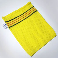 NEW! 20 x SMALL YELLOW ITALY TOWEL KOREAN WASHCLOTH BODY SCRUBBER EXFOLIATING