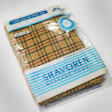 NEW! 10 x CHECK BEIGE ITALY TOWEL KOREAN WASHCLOTH BODY SCRUBBER EXFOLIATING