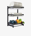Wall-Mounted Dish Drying Rack