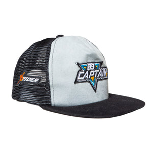 The Captain Grey Visor - Truckies Hat