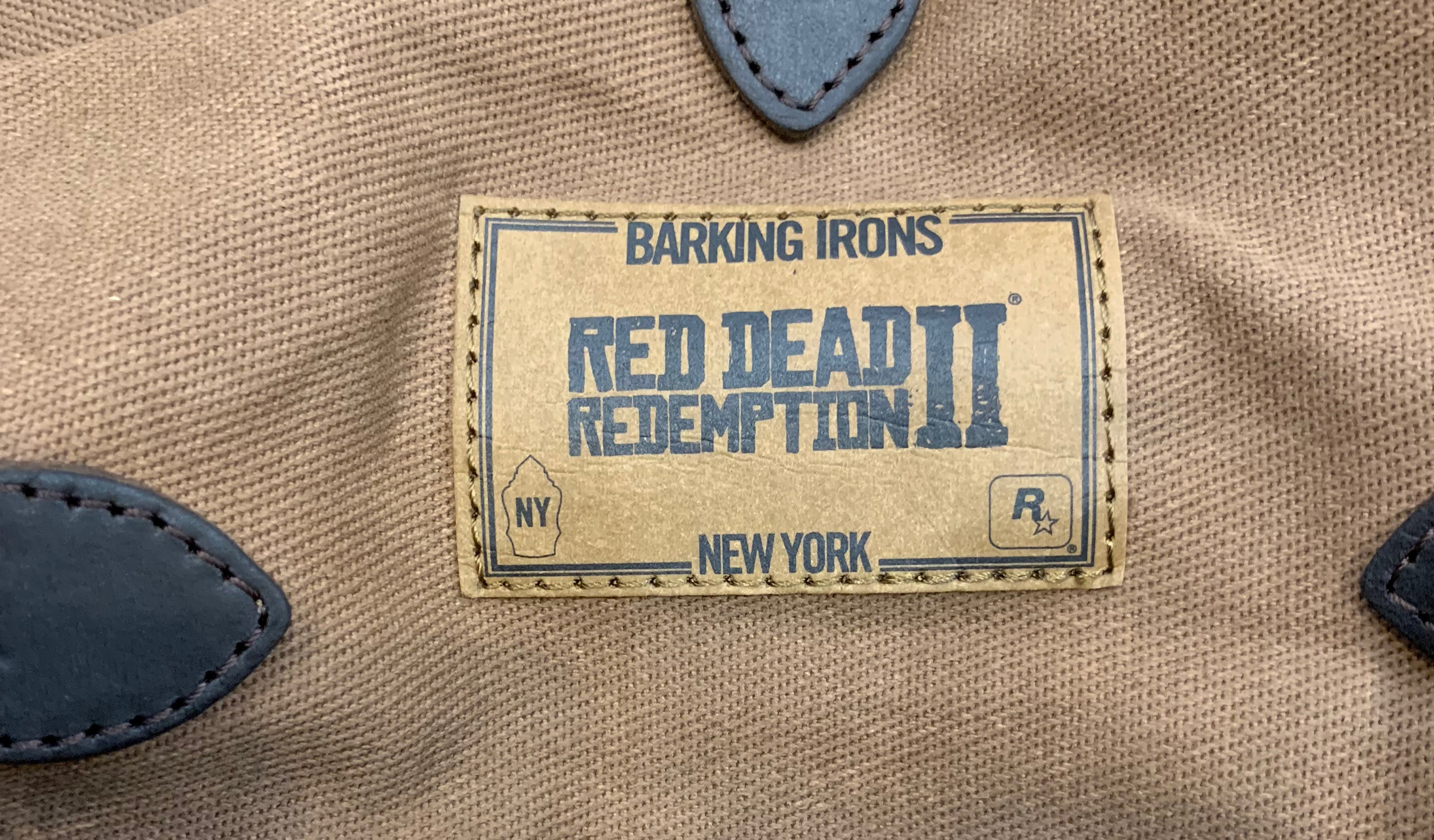 Rockstar Games Barking Irons RDR2 Duffel Bag Limited Edition