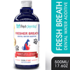 100% Natural Fresh Breath Water Additive/Mouthwash for Pets – 500ml - Petdentist