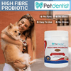 Natural High Fibre Probiotics For Dogs And Cats With CoQ10 & Vitamin C - Petdentist