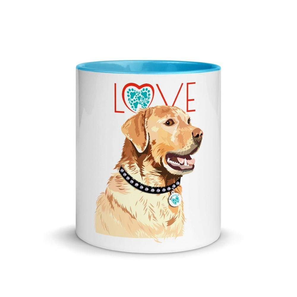 TQuench Petdentist Labrador Mug with Colour Inside - Petdentist