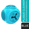 Petdentist® Plaque Cleaner Treat Dispenser Chew Toy (Blue)