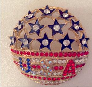 USA brooche