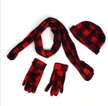 Load image into Gallery viewer, Buffalo Plaid winter set
