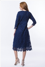 Load image into Gallery viewer, Floral Lace Dress