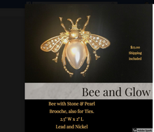 Load image into Gallery viewer, Bee Brooche